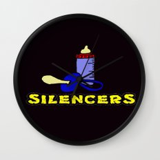 Silencers Wall Clock