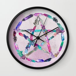 Pentacrystal Wall Clock