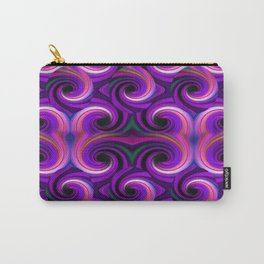 Swirled and Twirled Colors Carry-All Pouch