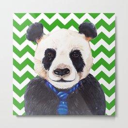 The Interview / Panda Print Metal Print