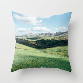 Tunisian Plateau Throw Pillow