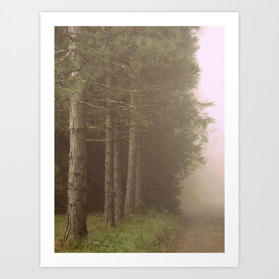Lost in a Fog Art Print