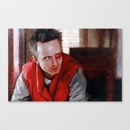 Jesse Pinkman Black Eye - Breaking Bad Canvas Print