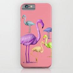 flamingo party-pink Slim Case iPhone 6s