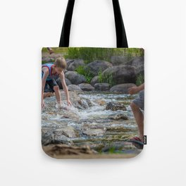 Mississippi Headwaters Fun Tote Bag
