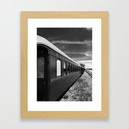 Sandy River Railroad Framed Art Print