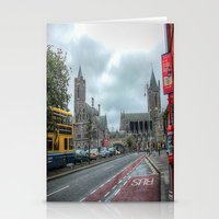 dublin Stationery Cards featuring Dublin by Christine Workman