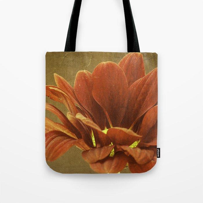 Vintage Chrysanthemum Tote Bag