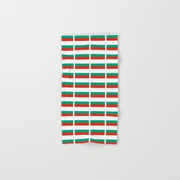 flag of bulgaria -bulgarian, България,български,slav,cyrillic,Sofia,bulgaria Hand & Bath Towel