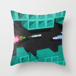 Inside Vanguard Throw Pillow