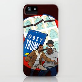Days Of Future Trump iPhone Case