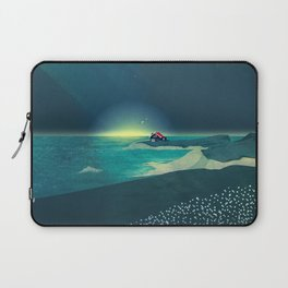 House by the Sea Laptop Sleeve