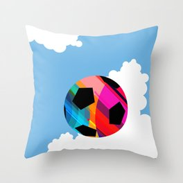 World Cup Soccer Throw Pillow