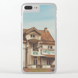 Hostel Clear iPhone Case