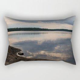 Lake Reflection Rectangular Pillow