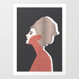 Think Twice Art Print