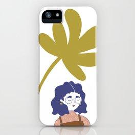 Palm Tree Girl iPhone Case
