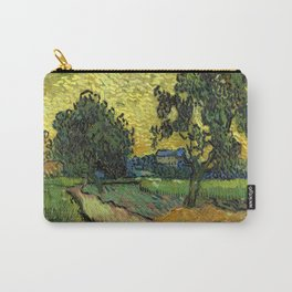 Vincent Van Gogh : Landscape at Twilight Carry-All Pouch