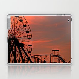 Sundown in Fun Town Laptop & iPad Skin