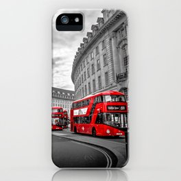 London Busses iPhone Case