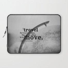 Robert Louis Stevenson Quote Travel Laptop Sleeve