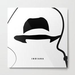 A Hat's Society - Indie Metal Print