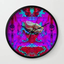 Nature of Chameleon Wall Clock