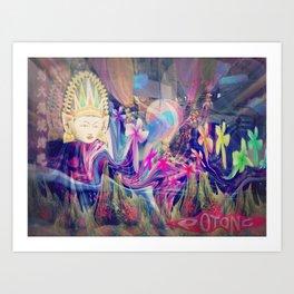 Singapore Love Art Print