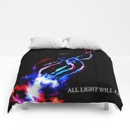 Shot of Light Comforters