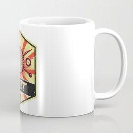 Knitting Propaganda   Knit Wool Hobby Coffee Mug