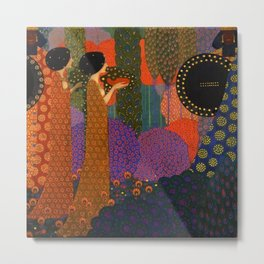 A Thousand and One Nights by Vittorio Zecchin Metal Print