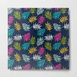Tropical pattern Metal Print