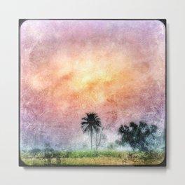 Sierra Palm Leone Metal Print