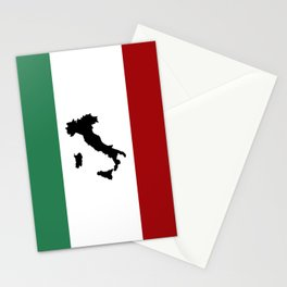 Italian Flag & Boot Stationery Cards