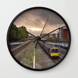 Exeter Central Pacer Wall Clock