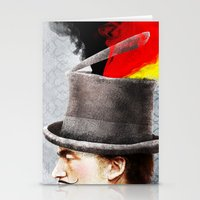 german Stationery Cards featuring German by Francesca Cosanti