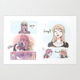 Day Dreams Art Print