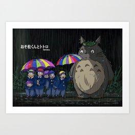 My Neighbour Osomatsu 01 Art Print