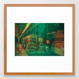 Rat Race #1 Framed Art Print
