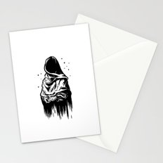 Time (Black and White) Stationery Cards