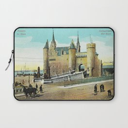 Antwerpen Antwerp Steen medieval castle Laptop Sleeve