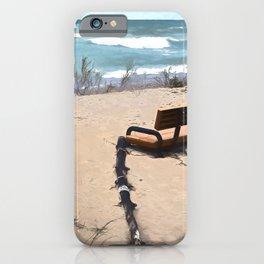Beach Bench iPhone Case