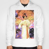 angels Hoodies featuring Angels by Saundra Myles