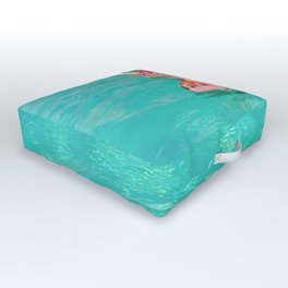 Whistle your soundtrack, daydream your future. Outdoor Floor Cushion