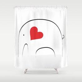 Japanese Elephant 2 Shower Curtain