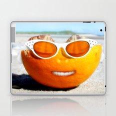 Beached Orange Laptop & iPad Skin
