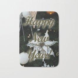 Happy New Year Bath Mat