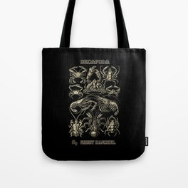 """""""Decapoda"""" from """"Art Forms of Nature"""" by Ernst Haeckel Tote Bag"""