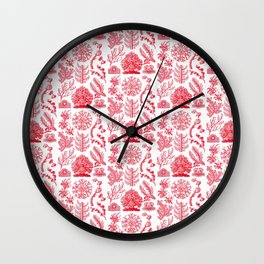 Ernst Haeckel Florideae Red Algae Wall Clock