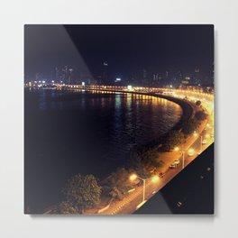 Mumbai - marine drive Metal Print